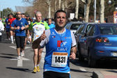 Marathon runner — Stock Photo
