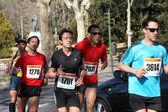 Corridori di mezza maratona — Foto Stock