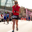 Woman running - Stockfoto