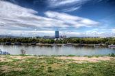 Belgrade in hdr — Stockfoto