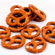 Salted pretzels — Stock Photo