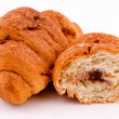 Chocolate Croissant — Stock Photo