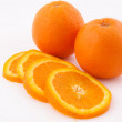 Oranges sliced - Stock Photo