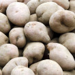 Stock Photo: Spuds on market