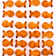 Fish crackers — Stockfoto