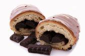 Croissant de chocolate — Foto de Stock