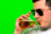 Hombre cerveza — Foto de Stock