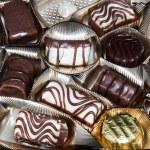 Chocolate pralines — Stock Photo #9158031