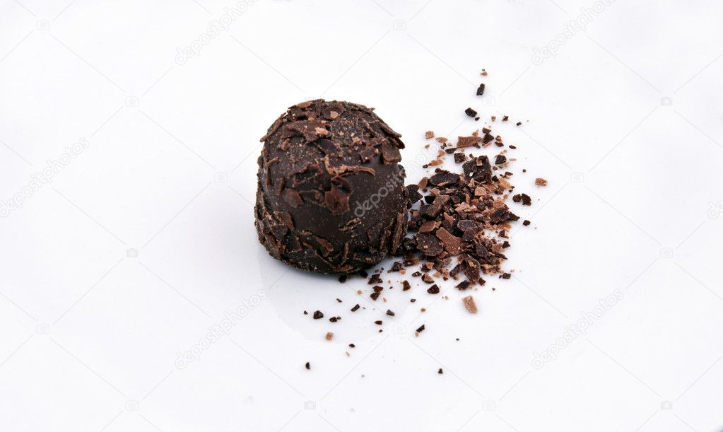 Luxury chocolate praline — Stock Photo #9266825