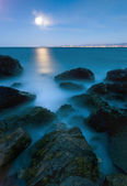 Evening seascape — Stock Photo