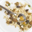 Multi fruit and nut muesli — Stok fotoğraf