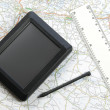 Global positioning system device — Stock Photo #9136422