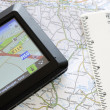 Stockfoto: Global positioning system device
