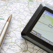 Foto de Stock  : Global positioning system device