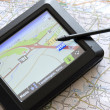 Global positioning system device — Stockfoto