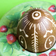 Handmade Easter Egg — Stock Photo #9137293
