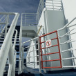No Entry Sign Onboard a Cruise Ferry — Stock Photo