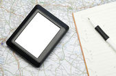 Global positioning system device — Stock Photo