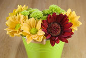 Bunch of colourful flowers — Stock Photo