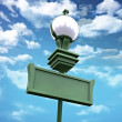 Street lamp sky — Stock Photo #10558515