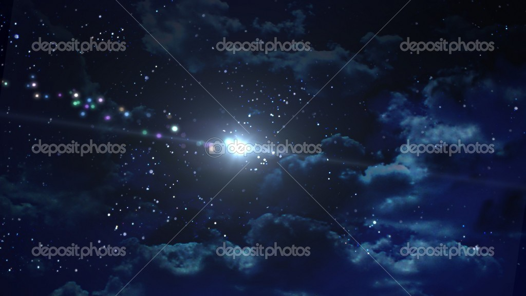 The beauty night sky with star background — Stock Photo #9322396