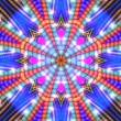 Colorful star background - Stockfoto