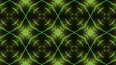 Green circle disco dance background — Stock Photo