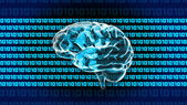 Crystal Brain 1010 — Stock Photo