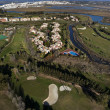 Stok fotoğraf: Aerial view of golf course