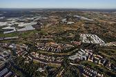 Aerial view of the Islantilla beach resort — Stock Photo