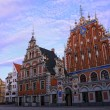 Stock Photo: Riga, Latvi- House of blackheads