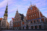 Riga, Latvia - House of blackheads — Stock Photo