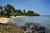 Paradise kambodjanska stranden på kanin island — Stockfoto