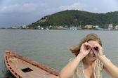 Rozmazané vidění - potřebujete brýle! — Stock fotografie