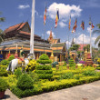 Stock Photo: Wat Preah Prom Rath Temple at Siem Reap