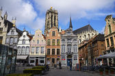Town square of Mechelen — Stock Photo