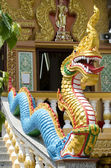 Dragon in a buddhist temple — Stock Photo
