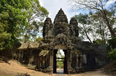 South gate to Angkor Tom — Stock Photo