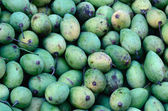 Green Vietnamese mangoes — Stock Photo