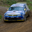 Stock Photo: Rallye car