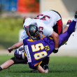 VIenna Vikings vs. Carinthian Black Lions — Stock Photo