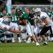 Danube Dragons vs.  Tirol Raiders - Stockfoto
