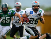 Danube Dragons vs. Tirol Raiders — Stock Photo