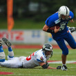 Stock Photo: American Football B-European Championship 2009