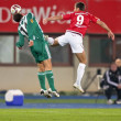 SK Rapid vs. Hapoel Tel Aviv — Stock Photo #9070355