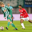 SK Rapid vs. Hapoel Tel Aviv - Stock Photo