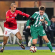SK Rapid vs. Hapoel Tel Aviv — Stock Photo #9070387