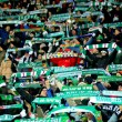 SK Rapid vs. Celtic Glasgow F.C. - Stock Photo