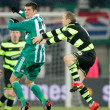 SK Rapid vs. Celtic Glasgow F.C. — Stockfoto