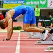 Royalty-Free Stock Photo: Linz Indoor Gugl Track and Field Meeting 2011